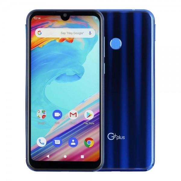 موبایل و تبلت گوشی موبایل دو سیم کارت جی پلاس مدل Q10 رنگ آبی