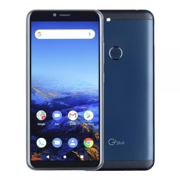گوشی موبایل دو سیم کارت جی پلاس مدل T10 رنگ آبی