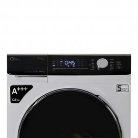 ماشین لباسشویی جی پلاس ماشین لباسشویی 10.5 کیلویی جی پلاس مدل K1048S