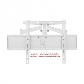 براکت دیواری تلویزیون   پایه دیواری تمام متحرک تلویزیون 75 اینچ مدل TWM-510