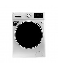ماشین لباسشویی جی پلاس ماشین لباسشویی 8 کیلویی جی پلاس مدل K8220W با گارانتی گلدیران